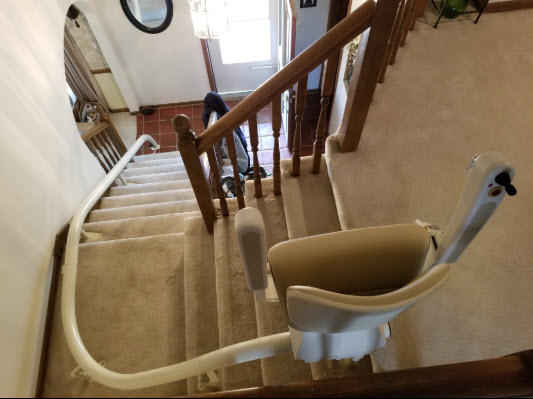 curved stair lift company