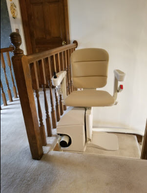 curved stair lift kansas